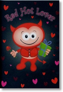 Red Hot Lover, Valentine's Day Card